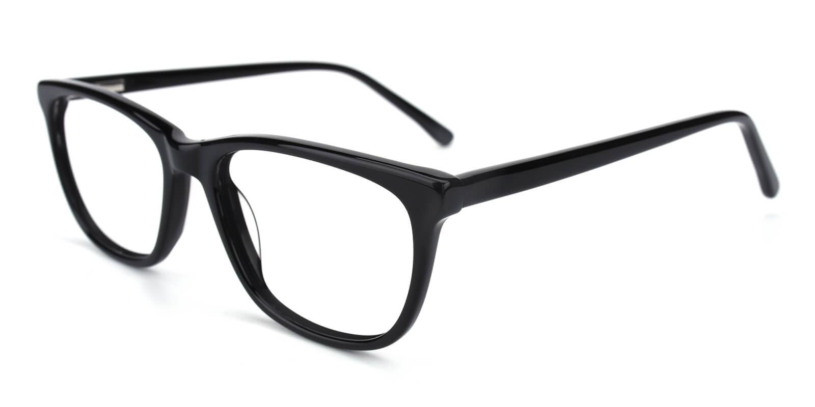 Emblem-Black-Square / Cat-Acetate-Eyeglasses-additional1