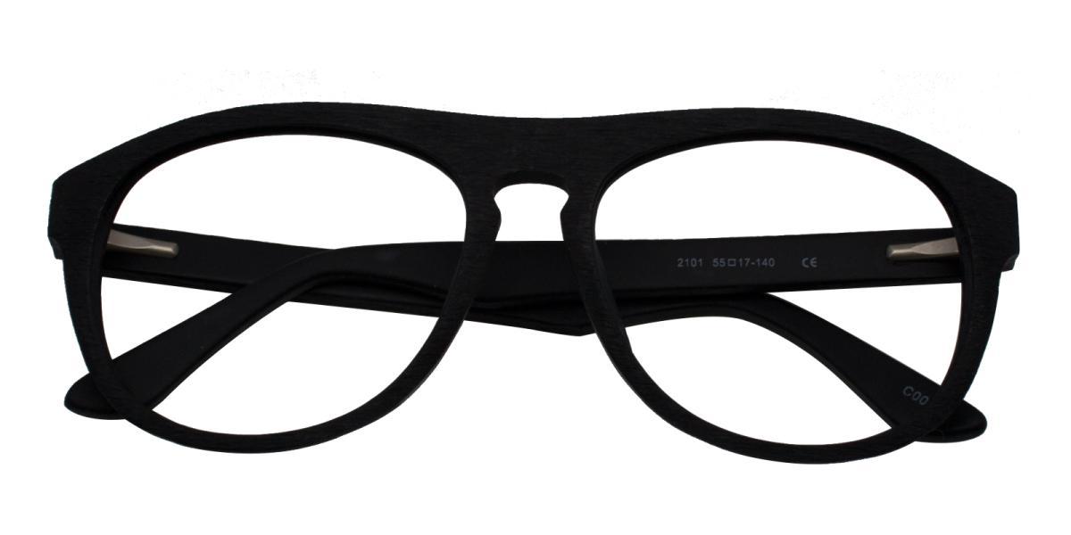 -Black-Square-Acetate-Eyeglasses-detail