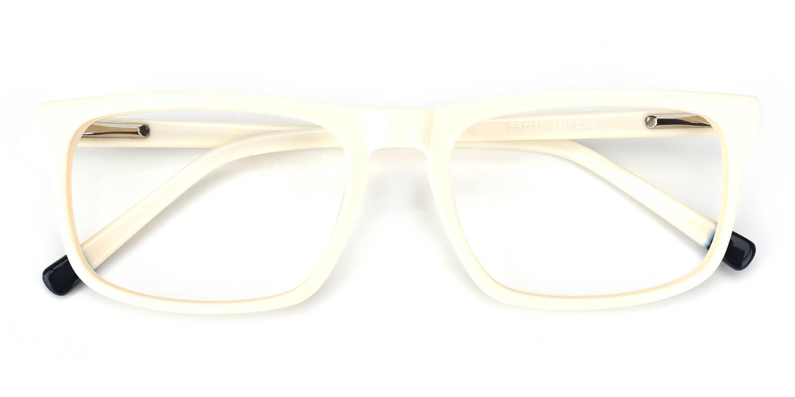 Etched-White-Rectangle-Acetate-Eyeglasses-detail