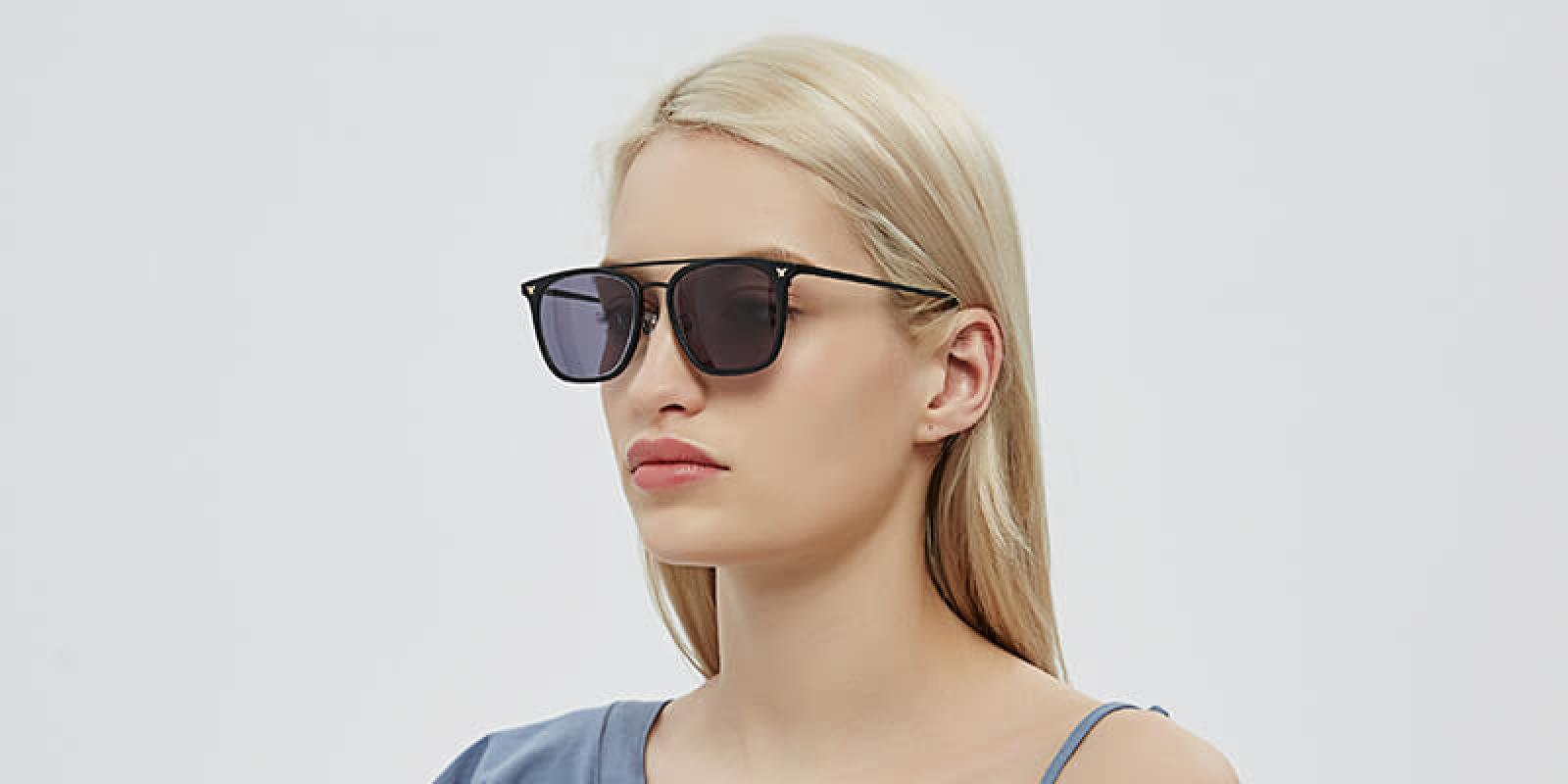Seagual-Black-Combination / Metal / TR-Sunglasses-detail2