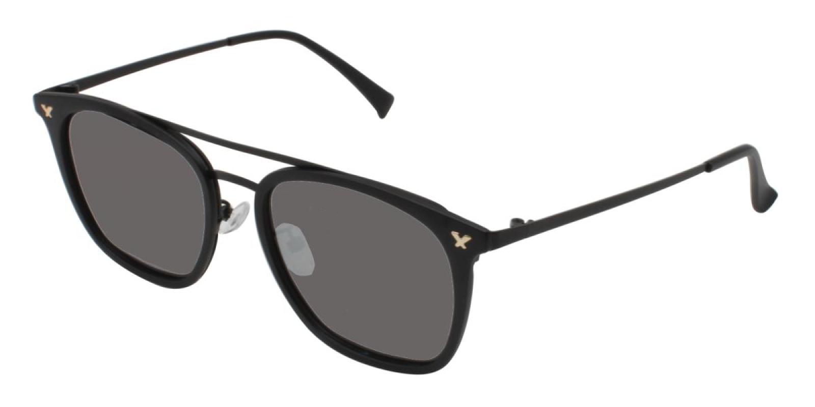 Seagual-Black-Aviator-Combination / Metal / TR-Sunglasses-additional1