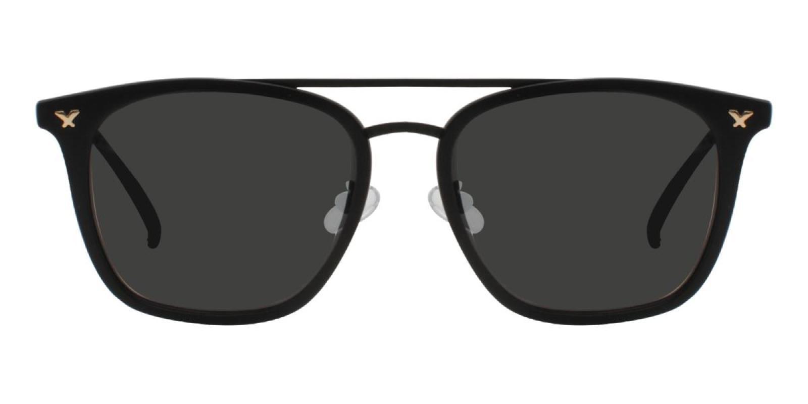 Seagual-Black-Aviator-Combination / Metal / TR-Sunglasses-additional2