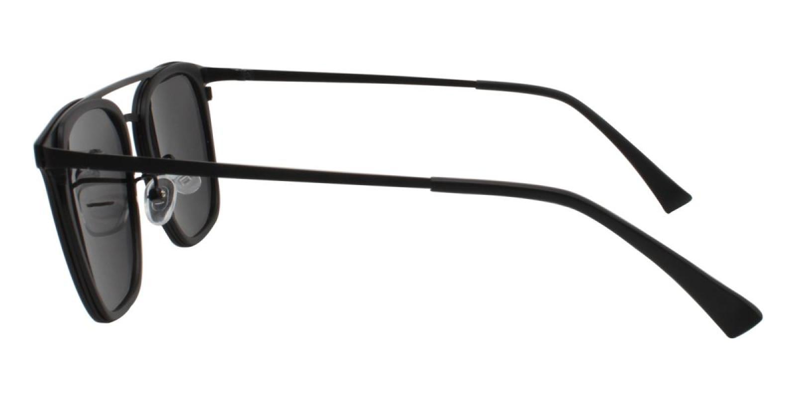 Seagual-Black-Aviator-Combination / Metal / TR-Sunglasses-additional3