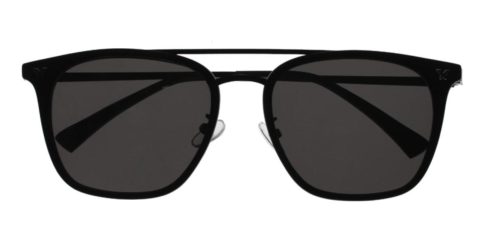Seagual-Black-Aviator-Combination / Metal / TR-Sunglasses-detail