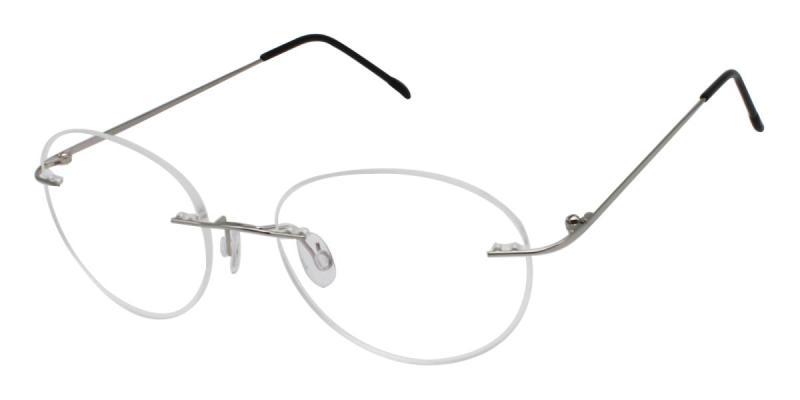 Ditto-Silver-Eyeglasses
