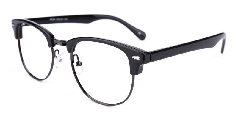 Ferrous-Black-Eyeglasses