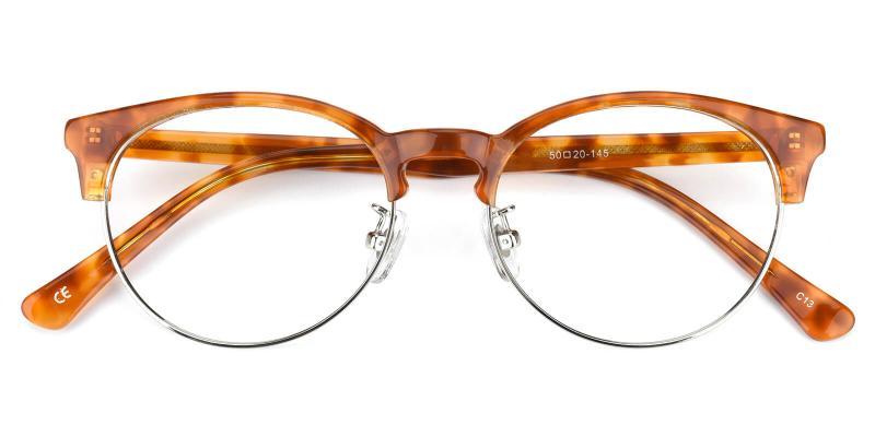 Esteban-Brown-Eyeglasses / NosePads