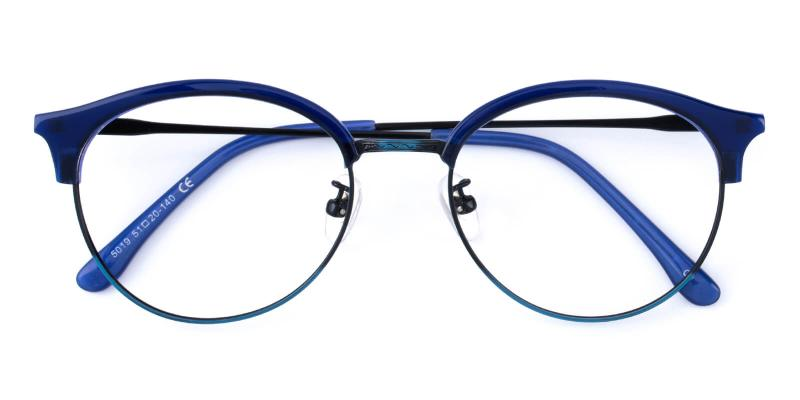 Avenue-Blue-Eyeglasses / NosePads