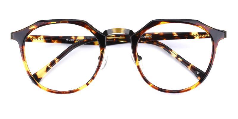 Intense-Leopard-Eyeglasses / NosePads