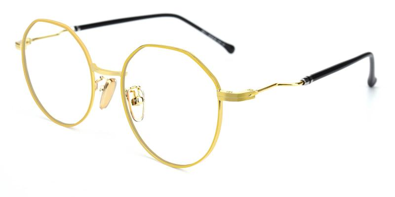 Clarker-Gold-Eyeglasses
