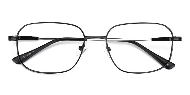 Weston-Black-Eyeglasses / NosePads