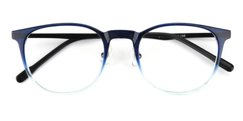 Aura-Blue-Eyeglasses / Lightweight / NosePads