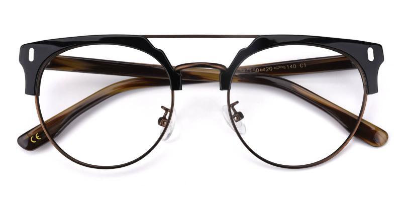 Timons-Brown-Eyeglasses / NosePads