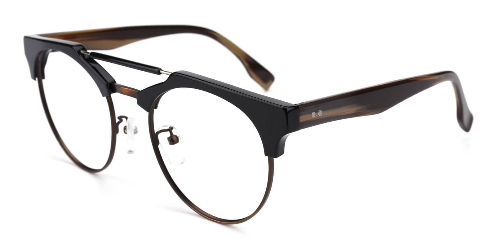 Ombama-Brown-Browline-Combination-Eyeglasses-additional1