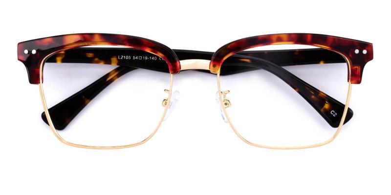 Ellimim-Tortoise-Eyeglasses / NosePads