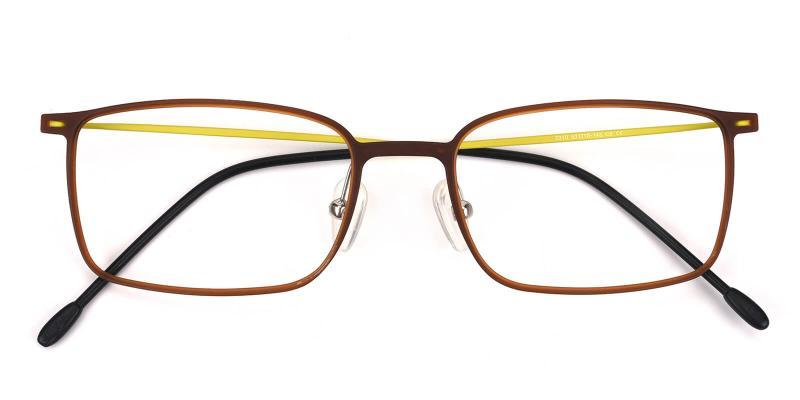 Glory-Brown-Eyeglasses / Lightweight / NosePads