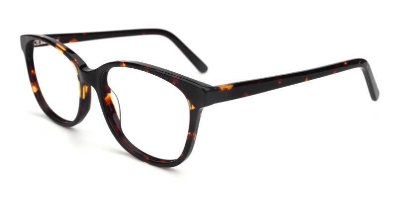 Bolivia-Tortoise-Eyeglasses / SpringHinges / UniversalBridgeFit