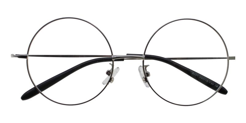 Lily-Silver-Eyeglasses / Lightweight / NosePads