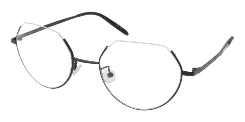 Hudson-Black-Eyeglasses