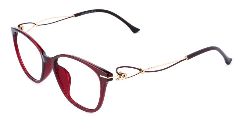 Godsilk-Red-Eyeglasses