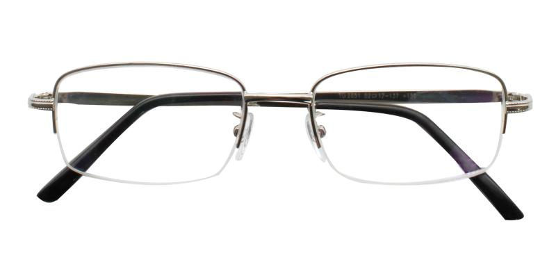Slimber-Silver-Eyeglasses / NosePads