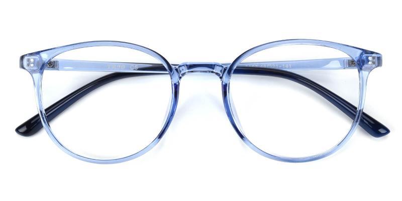 Aure-Blue-Lightweight / UniversalBridgeFit / Eyeglasses