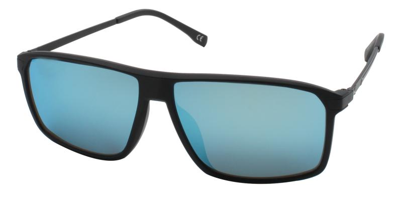 Brighton-Black-Sunglasses / UniversalBridgeFit