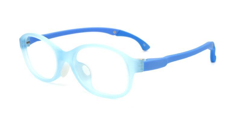 Sebastian-Blue-Eyeglasses / Lightweight / NosePads