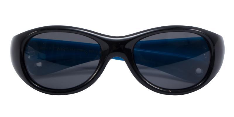 Frog-Black-Sunglasses / UniversalBridgeFit