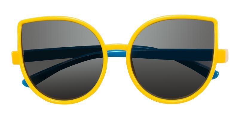 Brain-Yellow-Sunglasses / UniversalBridgeFit