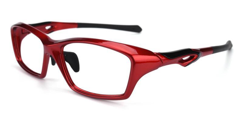 Speniary-Red-Eyeglasses / Fashion / SportsGlasses / UniversalBridgeFit
