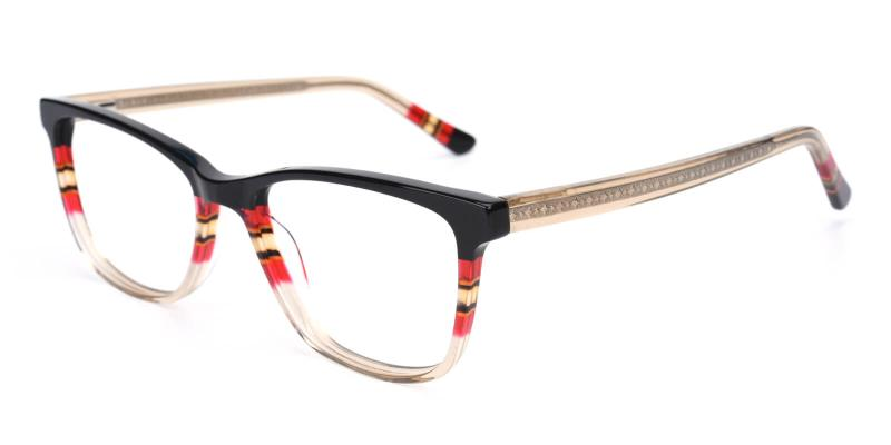 Belinda-Brown-Eyeglasses / Fashion / SpringHinges / UniversalBridgeFit