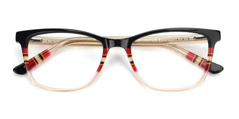 Belinda-Brown-Eyeglasses / Fashion / SpringHinges / UniversalBridgeFit