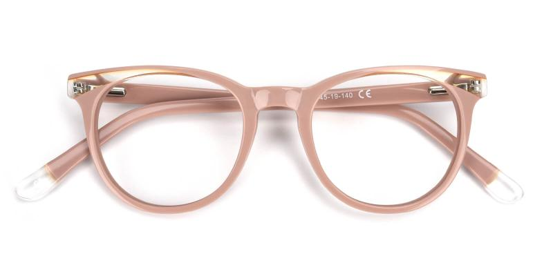 Clementine-Cream-Eyeglasses / Fashion / Lightweight / SpringHinges / UniversalBridgeFit