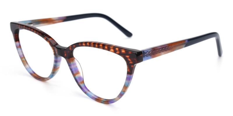 Daphnely-Brown-Eyeglasses / Fashion / SpringHinges / UniversalBridgeFit
