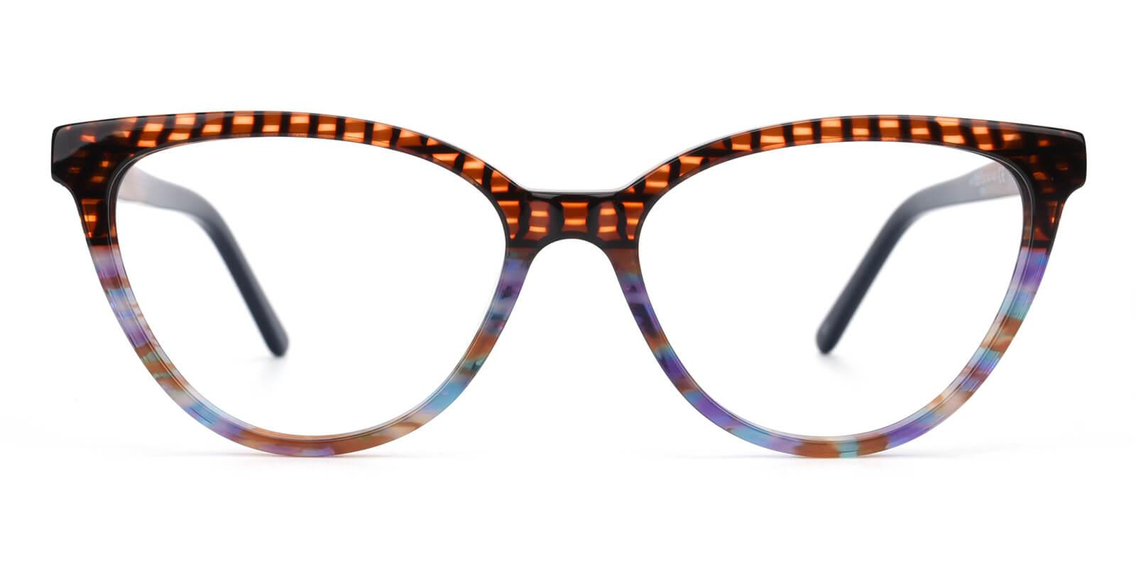 Daphnely-Brown-Oval / Cat-Acetate-Eyeglasses-additional2