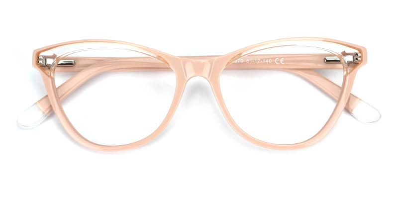 Florencer-Pink-Eyeglasses / Fashion / Lightweight / SpringHinges / UniversalBridgeFit