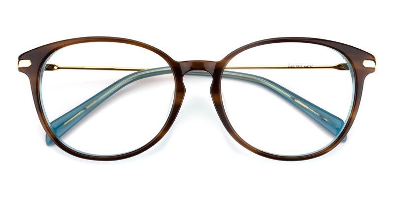 Hindoom-Tortoise-Eyeglasses / Fashion / SpringHinges / UniversalBridgeFit