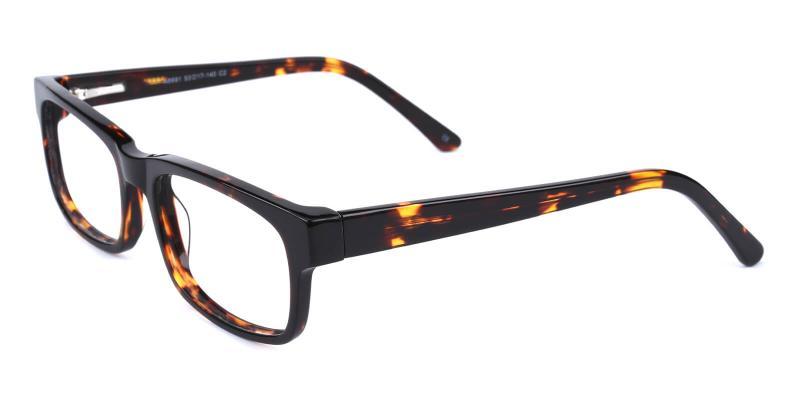 Eware-Tortoise-Eyeglasses / Fashion / SpringHinges / UniversalBridgeFit