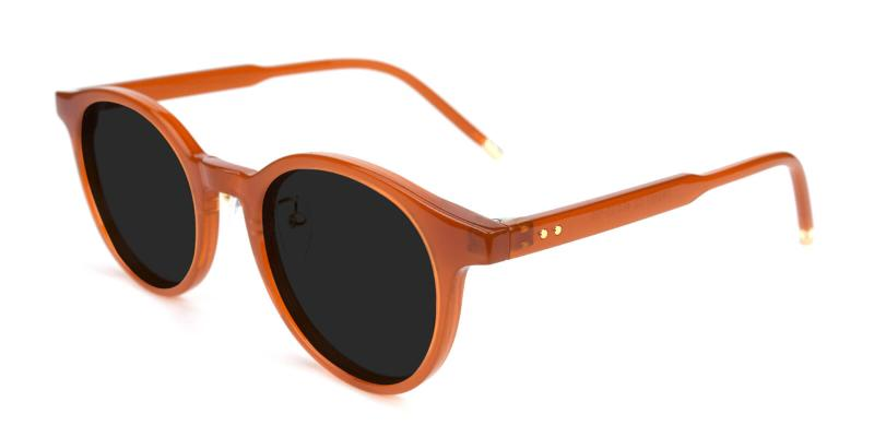 Chiny-Brown-Sunglasses