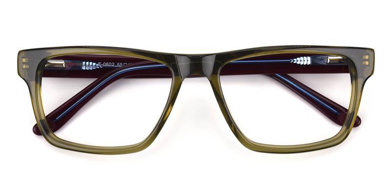 Nightdream-Green-Eyeglasses / Fashion / SpringHinges / UniversalBridgeFit