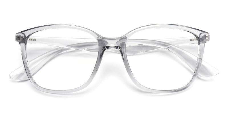 Jason-Gray-Eyeglasses / Fashion / Lightweight / UniversalBridgeFit