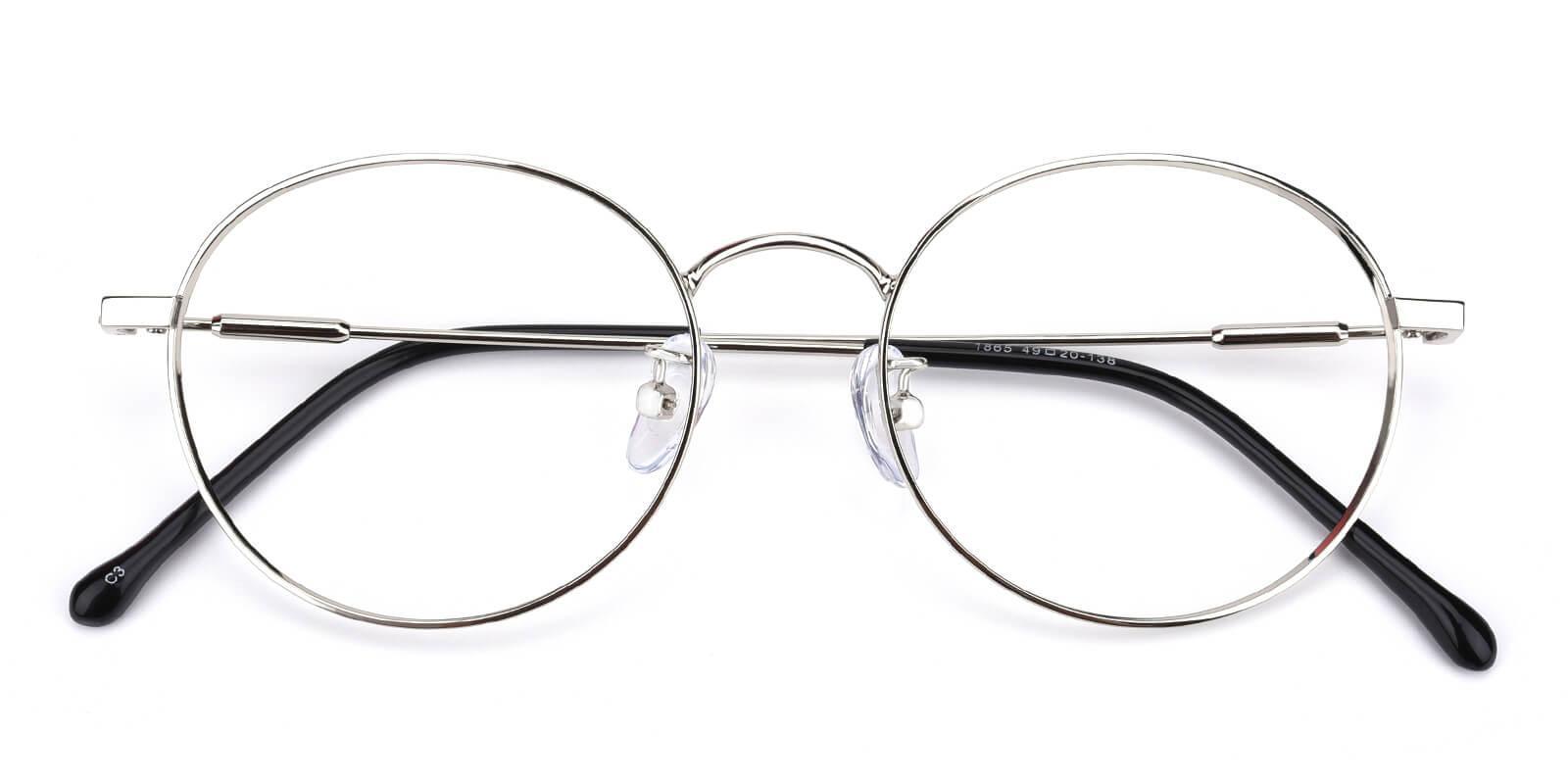 Hibbardr-Silver-Round-Metal-Eyeglasses-detail