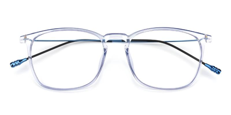Quauetom-Blue-Eyeglasses / Fashion / Lightweight / UniversalBridgeFit