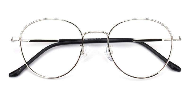 Devi-Silver-Eyeglasses / Lightweight / NosePads