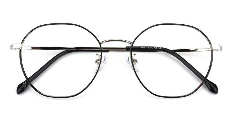 Govind-Black-Eyeglasses / Lightweight / NosePads