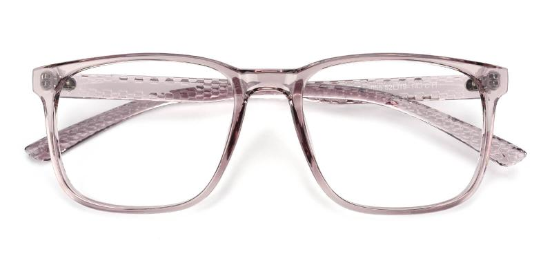 Braxton-Purple-Eyeglasses / Fashion / Lightweight / UniversalBridgeFit