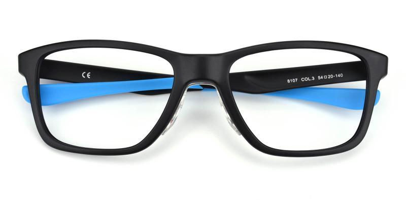 Pele-Blue-Eyeglasses / SportsGlasses / UniversalBridgeFit