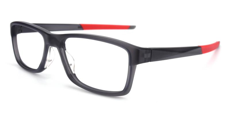 Rex-Red-Eyeglasses / Lightweight / SportsGlasses / UniversalBridgeFit
